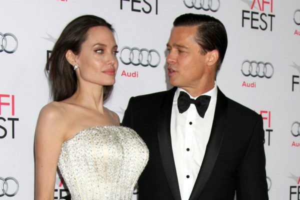 "LOS ANGELES - NOV 5:  Angelina Jolie Pitt, Brad Pitt at the AFI FEST 2015 Presented By Audi Opening Night Gala Premiere of ""By The Sea"" at the TCL Chinese Theater on November 5, 2015 in Los Angeles, CA"