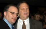 "Bob and Harvey Weinstein at 29th Annual ""Dinner of Champions"" Award and Benefit Fundraiser, Century Plaza Hotel, Century City, Calif., 09-25-03"