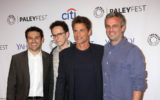 Fred Savage, Jarrad Paul, Rob Lowe, Andrew Mogel at the PaleyFest 2015 Fall TV Preview - FOX, Paley Center For Media, Beverly Hills, CA 09-15-15
